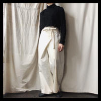 wrap pants / NATIVE VILLAGE