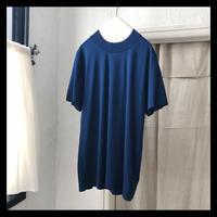 100/2ディオラマカシミヤタッチ天竺クルーネックTシャツ  / smoothday