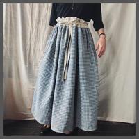 vintage linen apron one-piece