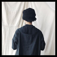 knit hat  black    /  p cnq
