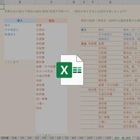 エクセル家計簿のテンプレート2020年版