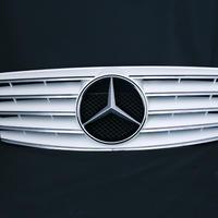 ベンツ Eクラス W210 後期 SLスタイルグリル ホワイト 商品番号1095