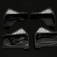 ベンツGクラス W463 ゲレンデ LED サイドステップエンド 4Pcs 商品番号4008