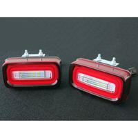 ベンツ Gクラス ゲレンデ W463 LED リアフォグ リバース レッド/クリアー 商品番号3749