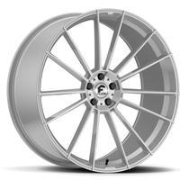 新品 ベンツ Sクラス W222/W221/W217 CLクラス W216 FORGIATO FLOW002 22インチ シルバー タイヤ付 フォージアート