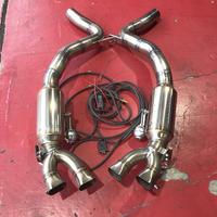 中古 ベントレー GT/GTC 2018y- W12エンジン用 可変バルブ付マフラー MIRACLE製 商品番号4542USED