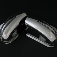 ベンツ Cクラス W203 アローミラー オールブラッククローム メッキ 商品番号2462