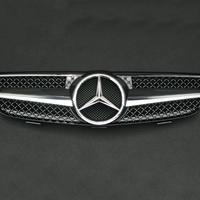 ベンツ CLKクラス W209/C209 ワンライン グリル ブラック 商品番号1836
