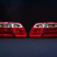 ベンツ Eクラス W210 セダン クリスタルLED テールランプ レッド/クリアー 商品番号1765