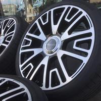新品 レクサス LS500/LS500h MANSORY V6 22インチ セット ブラック/ポリッシュ LEXUS マンソリー PCD120
