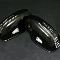 ベンツ CLKクラス W208/C208 アロー ドアミラー 197オブシディアン ブラック 商品番号2385