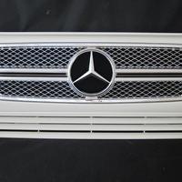 ベンツ Gクラス W463 ゲレンデ G65スタイルグリル 2ファン車対応品 650カルサイトホワイト 商品番号3210