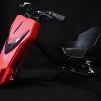電動 ドリフト 三輪車 耐荷重100kg 充電式 レッド 商品番号4267