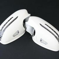 ベンツ CLクラス W216/C216 前期 アローミラーカバー 650カルサイトホワイト 商品番号2409