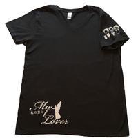 「私の恋人」Tシャツ(黒)