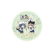 『しじゅフェス』缶バッチ(スタベちゃん×一二三ちゃん)
