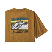 Patagonia(パタゴニア) メンズ・ライン・ロゴ・リッジ・ポケット・レスポンシビリティー #38511 Black (BKWG)