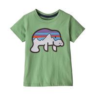 Patagonia(パタゴニア) ベビー・グラフィック・オーガニック・Tシャツ #60386 Fitz Roy Manatee: Thistle Green (FRMT)