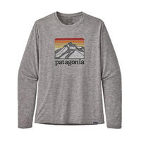 patagonia パタゴニア メンズ・ロングスリーブ・キャプリーン・クール・デイリー・グラフィック・シャツ #45190 (LRFG)【30-pt45190】