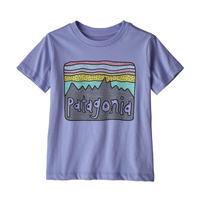 Patagonia(パタゴニア) ベビー・フィッツロイ・スカイズ・オーガニック・Tシャツ #60419 Light Violet Blue (LVBL)