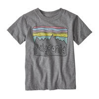 Patagonia(パタゴニア) ベビー・フィッツロイ・スカイズ・オーガニック・Tシャツ #60419   Gravel Heather (GLH) 【131-ptskiest】