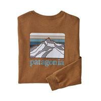 Patagonia(パタゴニア)メンズ・ロングスリーブ・ライン・ロゴ・リッジ・レスポンシビリティー#38517(BRBN)30&80-pt38517