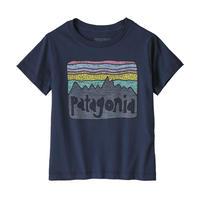 Patagonia(パタゴニア) ベビー・フィッツロイ・スカイズ・オーガニック・Tシャツ #60419   New Navy (NENA)【131-ptskiest】