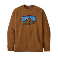 Patagonia(パタゴニア) メンズ・フィッツ・ロイ・アップライザル・クルー・スウェットシャツ  #39626 (BRBN) 31-pt39626