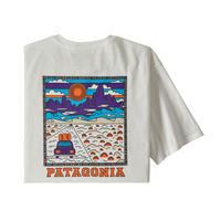 Patagonia(パタゴニア) メンズ・サミット・ロード・オーガニックティー #38537 White (WHI)