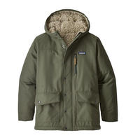 Patagonia(パタゴニア) ボーイズ・インファーノ・ジャケット #68460  Iindustrial Green w/Coriander Brown (IGCO)