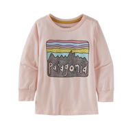 Patagonia(パタゴニア) ベビー・ロングスリーブ・グラフィック・オーガニック・Tシャツ  #60370  Fitz Roy Skies  (FSSP)【137 - PT60370】