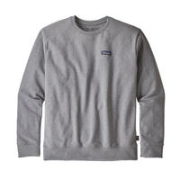 Patagonia(パタゴニア) メンズ・P-6 ラベル・アップライザル・クルー・スウェットシャツ #39543 Gravel Heather (GLH)