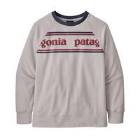 Patagonia(パタゴニア)  キッズ・ライトウェイト・クルー・スウェットシャツ #63015  (PSGG)  【81-PT63015】