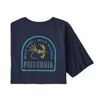 patagonia(パタゴニア) メンズ・ソフト・ハックル・オーガニック・Tシャツ#37412(NENA)【10-pt37412】