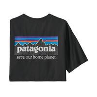 Patagonia(パタゴニア) メンズ・P-6・リジェネレイティブ・オーガニック・パイロット・Tシャツ#37529  (INBK) [商品管理番号:10-pt37529]