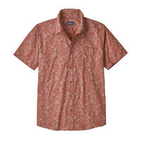 Patagonia(パタゴニア) メンズ・ゴー・トゥ・シャツ #52691 Beyond Extinction Small: Century Pink (BECP)