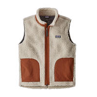 Patagonia(パタゴニア) キッズ・レトロX・ベスト  #65619  Natural w/Copper Ore (NACO) [商品管理番号:98-134-ptretrovk]