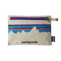 Patagonia(パタゴニア) ジッパード・ポーチ #59290   P-6 Fitz Roy: Bleached Stone (PFBS)