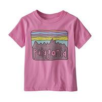 Patagonia(パタゴニア) ベビー・フィッツロイ・スカイズ・オーガニック・Tシャツ #60419  Marble Pink (MBPI)