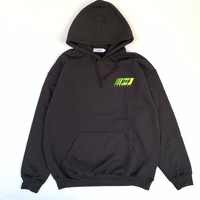 POVAL /Durrell Hooded Sweatshirt (black)