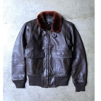 60's U.S.N.  G-1  flight jacket  (USED)