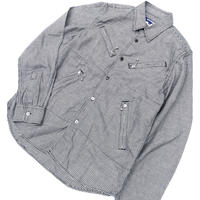 "2007  JUNYA WATANABE  COMME des GARCONS MAN "" 千鳥格子ライダースシャツ "" (Hi brand hurugi)"