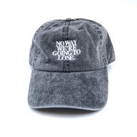 "FORTY PERCENT AGAINST RIGHTS  ""NO WAY 6 PANEL CAP""(black)"