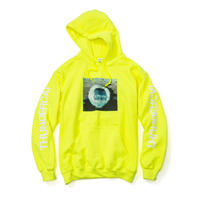 THUNDERCAT / 『DRUNK』Remix Hoodie 'Reflect'  (safety green)