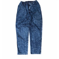 MASSES / DENIM CRACK PANTS (INDIGO)