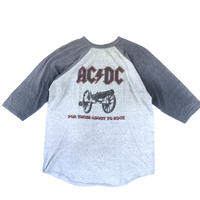 "1981 AC/DC ""for those about to rock tour tee"" (spice)"