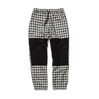 F-LAGSTUF-F  / CHECK EASY PANTS(white)