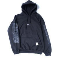 FORTY PERCENT AGAINST RIGHTS / COLLEGE HOODED 05 (black)