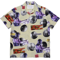 WACKO MARIA  x DJ HARVEY S/S HAWAIIAN SHIRT (yellow)