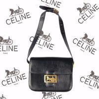 """old """"CELINE"""" bag """"""""Horse Carriage Shoulder Bag""""""""  (Hi brand hurugi)"""